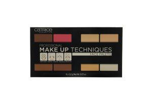 Палетка для контурирования Professional Make Up Techniques №10 Catrice 8х2.2г