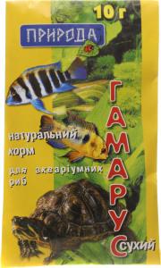 Корм для рыб Природа Гамарус