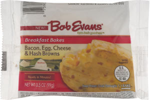 Bob Evans Breakfast Bakes Bacon, Egg, Cheese & Hash Browns
