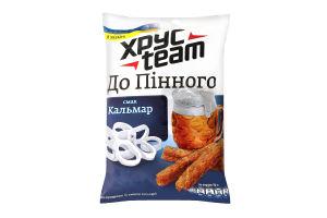 Сухарики хрусткі зі смаком кальмара Хрусteam м/у 70г