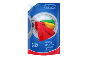 Засіб рідкий для прання універсальний Bio Эфф 500мл
