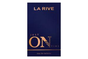LA RIVE JUST ON TIME Чоловіча туалетна вода, 100 мл