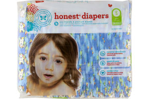 The Honest Co. Honest Diapers King of the Jungle Size 5 - 25 CT
