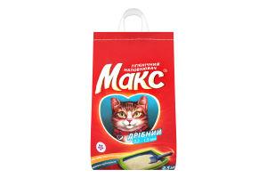 Наполнитель гигиенический для котов мелкий Макс 5кг