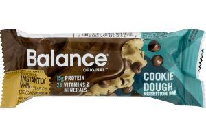 Balance Original Nutrition Bar Cookie Dough