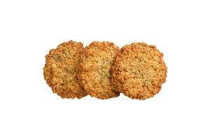 Печенье Крафтяр овсяное с грецким орехом
