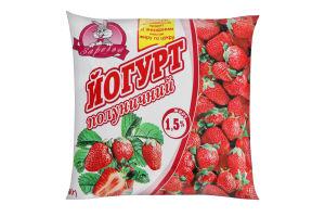Йогурт 1.5% Клубничный Заречье м/у 400г