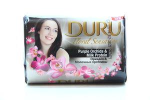 Мыло туалетное Орхидея&Молочные протеины Floral Sensations Duru 90г