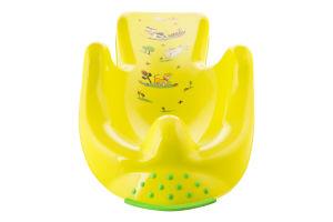 Кресло д/ванны детское Keeper функц п/скольж салат