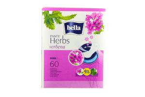 Прокладки гігієнічні щоденні Bella Panty Herbs verbena 60шт