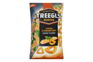 Сніданки сухі Трігли зі смаком сиру Corn snacks Treegls м/у 150г
