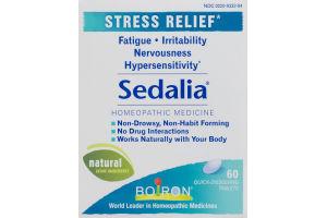 Boiron Sedalia Homeopathic Medicine Stress Relief Quick Dissolving Tablets - 60 CT