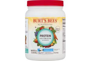Burt's Bees Plant-Based Protein Shake Protein + Gut Health Vanilla