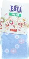 ESLI колготки дитячі р.104-110 276 блакитний