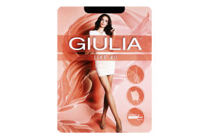 Колготки жіночі Giulia Like 40den 4-L nero