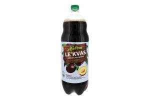 Напій безалкогольний сильногазований зі смаком сливи Le`Kvas Живчик п/пл 2л