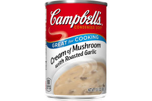 Campbell's Condensed Soup Cream of Mushroom with Roasted Garlic