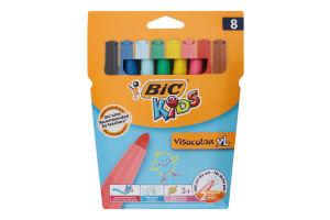 Фломастери кольорові Visacolor XL Kids BiC 8шт
