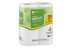 SE Grocers Paper Towels Ultra Premium - 2 CT