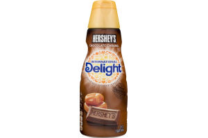International Delight Gourmet Coffee Creamer Hershey's Chocolate Caramel
