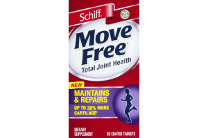 Schiff Move Free Total Joint Health Dietary Supplement - 80 CT
