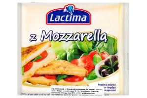 Сир плавлений 36.2% z Mozzarella Lactima м/у 8х16.25г