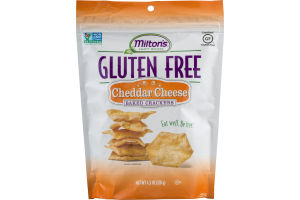 Milton's Craft Bakers Gluten Free Baked Crackers Cheddar Cheese