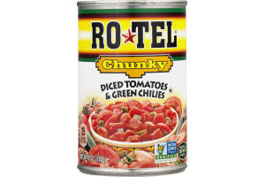 Ro-Tel Diced Tomatoes & Green Chilies Chunky
