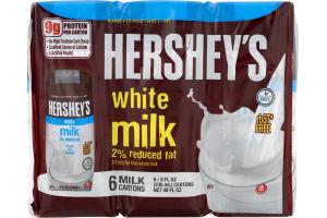 Hershey's White Milk 2% Reduced Fat - 6 CT