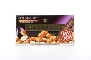 Шоколад Millennium Gold чорний горіх 90г
