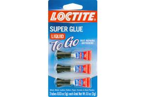 Loctite Super Glue Liquid To Go - 3 CT