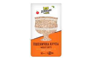 Крупа пшеничная Zernari м/у800г
