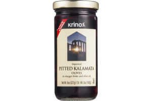Krinos Kalamata Olives Pitted