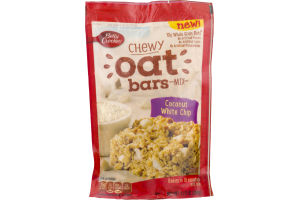 Betty Crocker Chewy Oat Bars Mix Coconut White Chip
