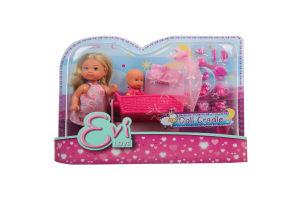 Кукла для детей от 3-х лет №5736242 Doll Cradle Evi love Simba 1шт