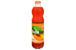 Напій безалкогольний негазований Чорний чай зі смаком персика Fuzetea п/пл 1.5л