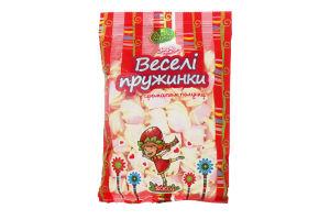Зефир жевательный с ароматом клубники Веселые пружинки Лісова казка м/у 200г