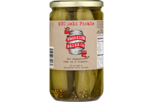 Brooklyn Brine Co. NYC Deli Pickle