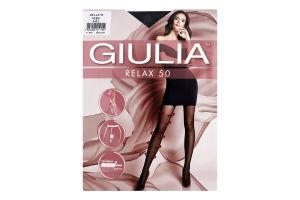 Колготки жіночі Giulia Relax 50den 5-XL nero