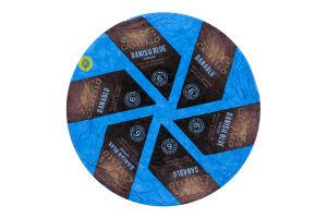 Сир 50% м'який з блакитною пліснявою Danablu Castello кг