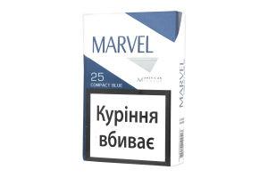 Сигарети з фільтром Compact Blue Marvel 25шт
