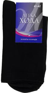 Шкарпетки Легка Хода чоловічі 6338 27 чорний