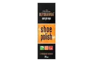 Крем для взуття з бджолиним воском Premium Blyskavka 75мл