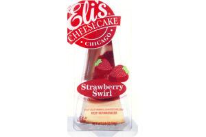 Eli's Strawberry Swirl Cheescake