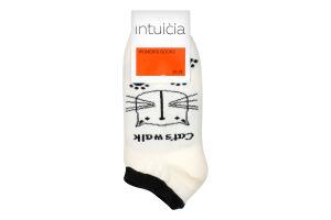 Шкарпетки Интуиция жіночі 184 23-25 білий