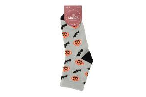 Шкарпетки жіночі Marca Hellowen №42109 23-25 сірий