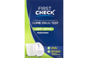First Check Marijuana Home Drug Test