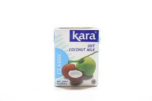 Молоко кокосовое 17% натуральное пастеризованное Kara т/п 200мл