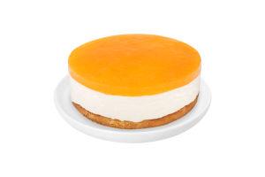 Торт Творожный с персиком
