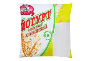 Йогурт 0.9% нежирный злаковый Заречье м/у 400г
